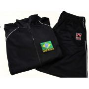 Agasalho Hapkido Brasil Martial Arts Shodo Cores: Preto ou Azul escuro