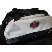 Bolsa Evolution Karate Shotokan Cinza Preta