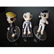 Combo 3  Bonecos Karate Kid Tamanho 8,5 cm