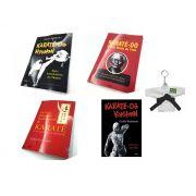 Combo com 4 Livros: Nyumon/Kyohan/Modo de Vida/20 Principios Fundamentais do Karate-Do G. Funakoshi + Brinde Chaveiro