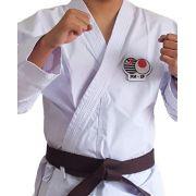 Kimono Karate Adulto PA  (Lonita) Linha Premium + 1 Path JKA SP