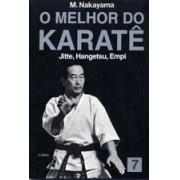 Livro Melhor do Karate Volume 7 - Jitte, Hangetsu, Empi