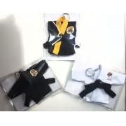 Mini Kimoninho Karate Kid Combo 3 unidades versão 2