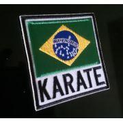 PATH BORDADO  KARATE BRASIL