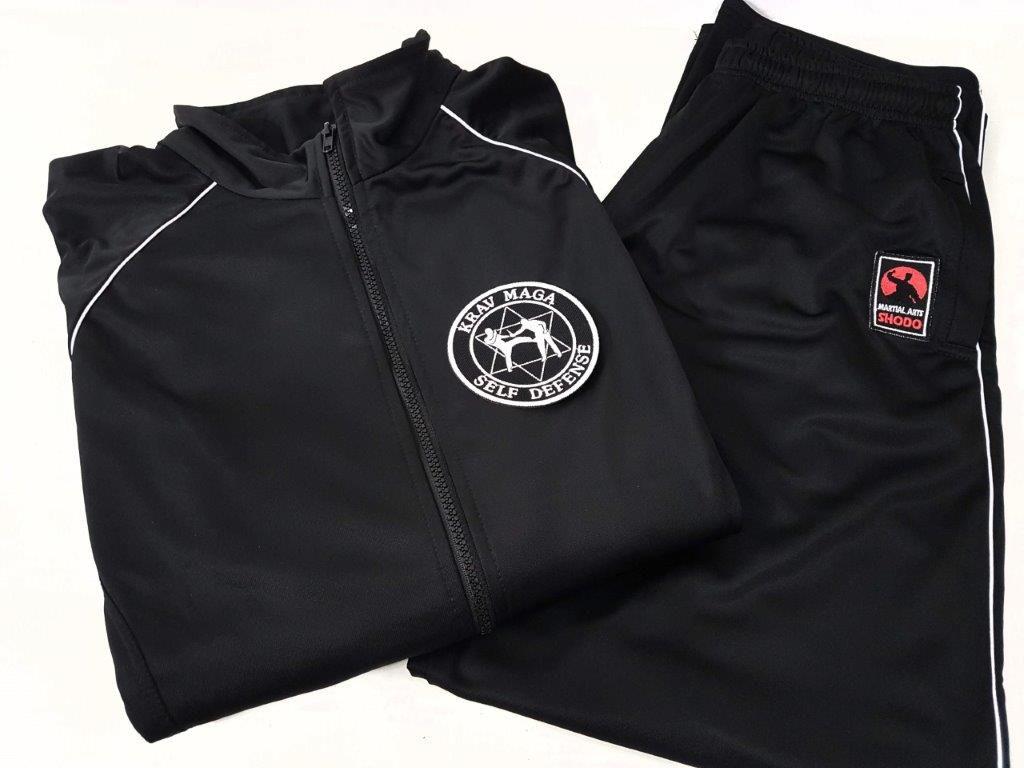 Agasalho Krav Magá Martial Arts Shodo Cores: Preto ou Azul escuro