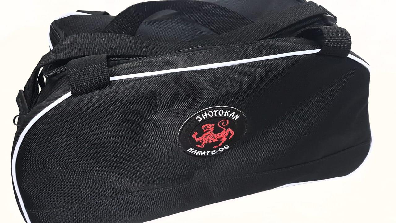 Bolsa Evolution Karate Shotokan 2 -  Preta friso branco