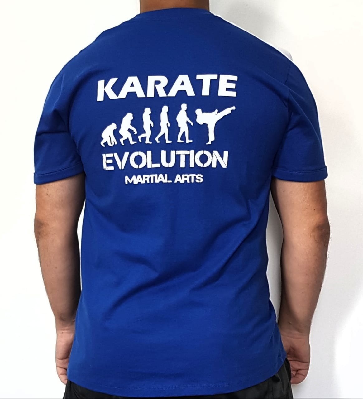 Camiseta Karate Evolution estampa nas costas