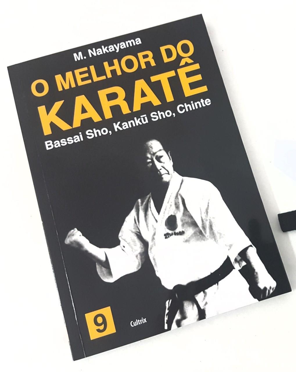 Livro Melhor do Karate Volume 9 - Bassai Sho, Kanku Sho e Chinte