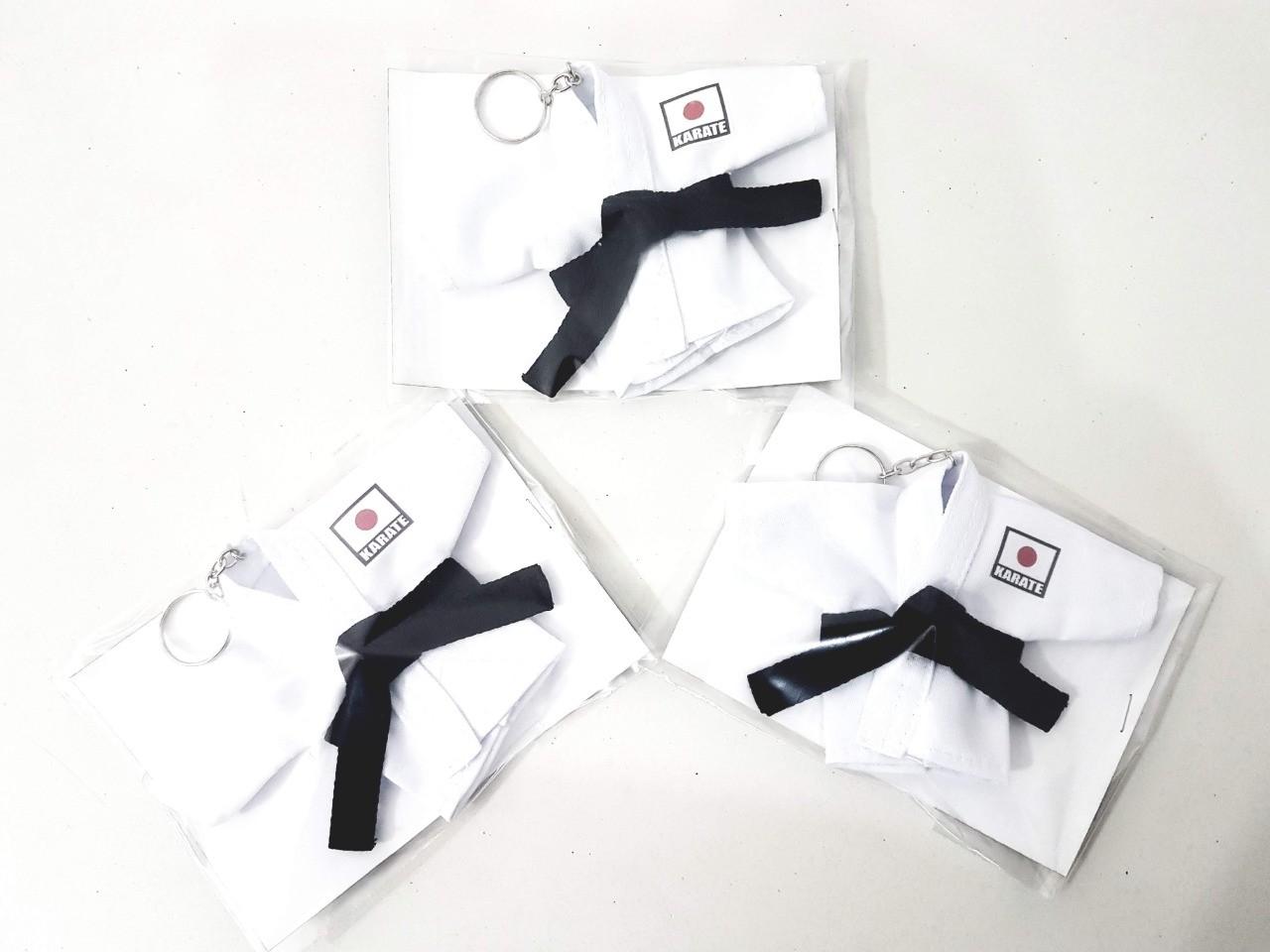 Mini Kimoninho Karate Japao Do Combo 3 unidades