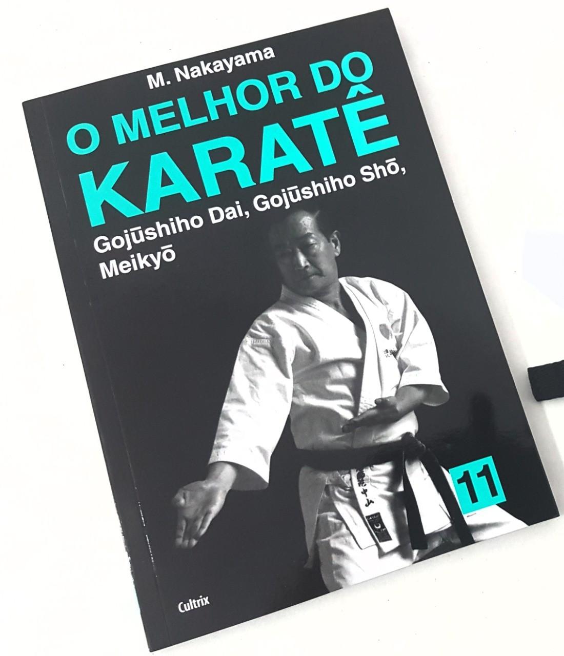Livro Melhor do Karate Volume 11 - Gojushiho Dai, Gojushiho Sho e Meikio