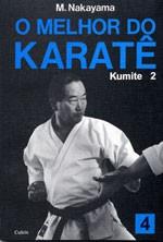 Livro Melhor do Karate Volume 4 - Kumite 2