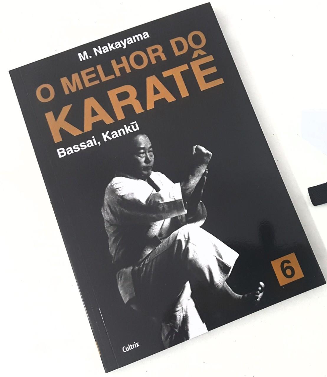 Livro Melhor do Karate Volume 6 - Bassai e Kanku