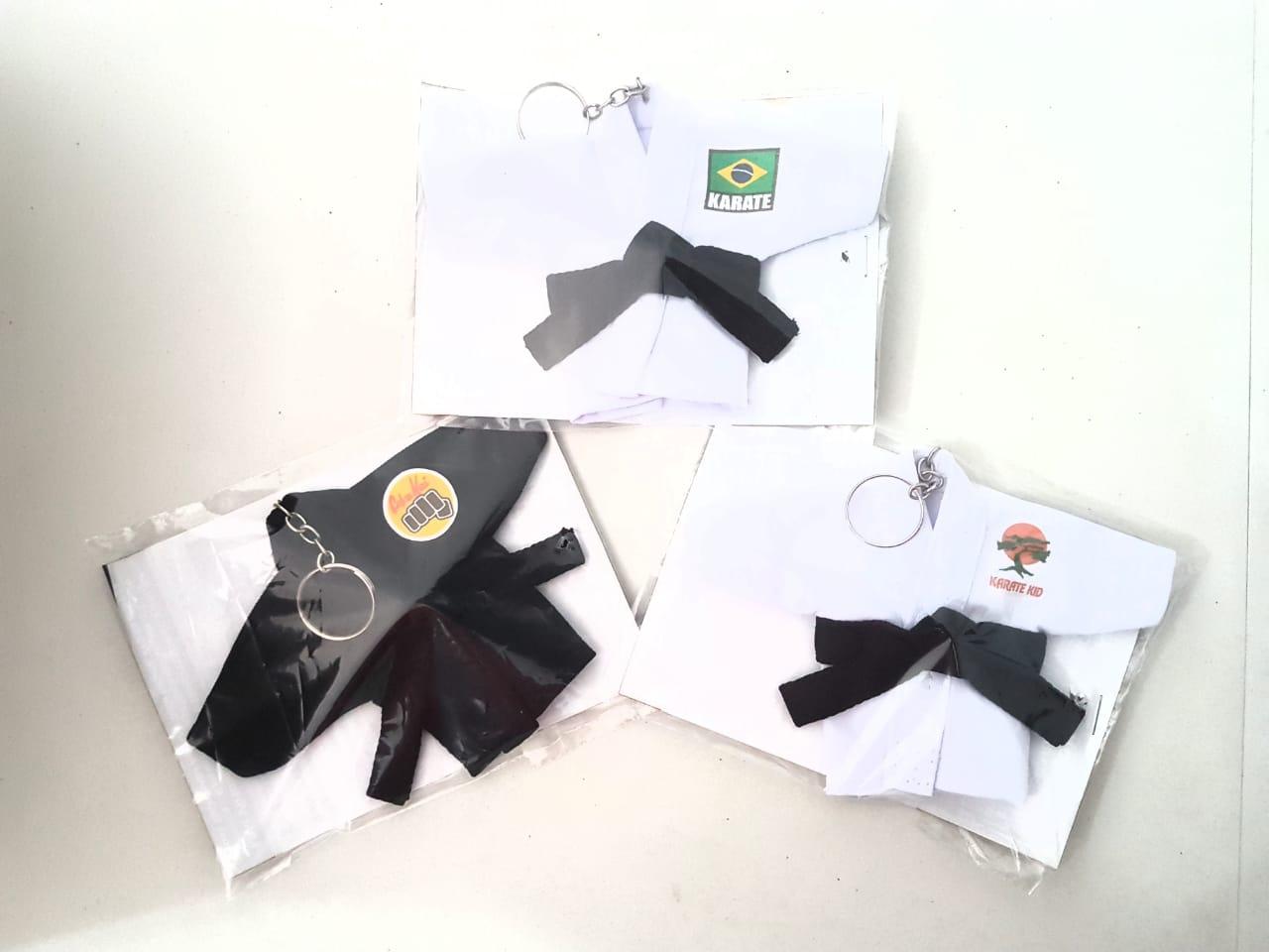 Mini Kimoninho Karate Kid Combo 3 unidades versão 1