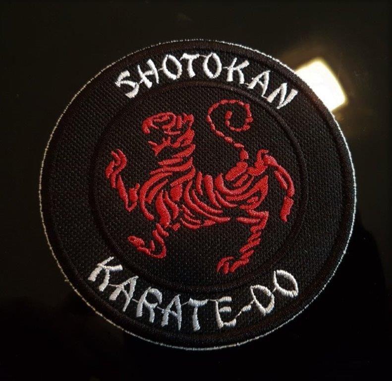 PATH BORDADO  KARATE SHOTOKAN 5