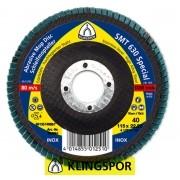 DISCO FLAP 180X22.23 G.80 SMT630 SPECIAL  KLINGSPOR SMT630