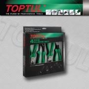 JOGO DE ALICATES COM 4PÇS TOPTUL GAAE0402