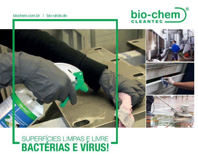 Agente de Limpeza Antibactericida Bio-Chem HC-10  - CELMAR