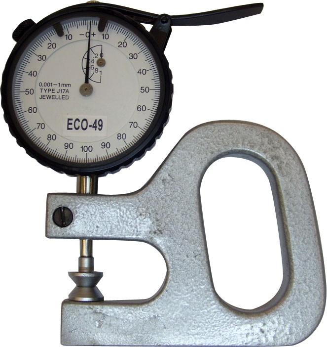 Medidor De Espessura (0.001 X 1 X 35mm) Ecogage Eco-49