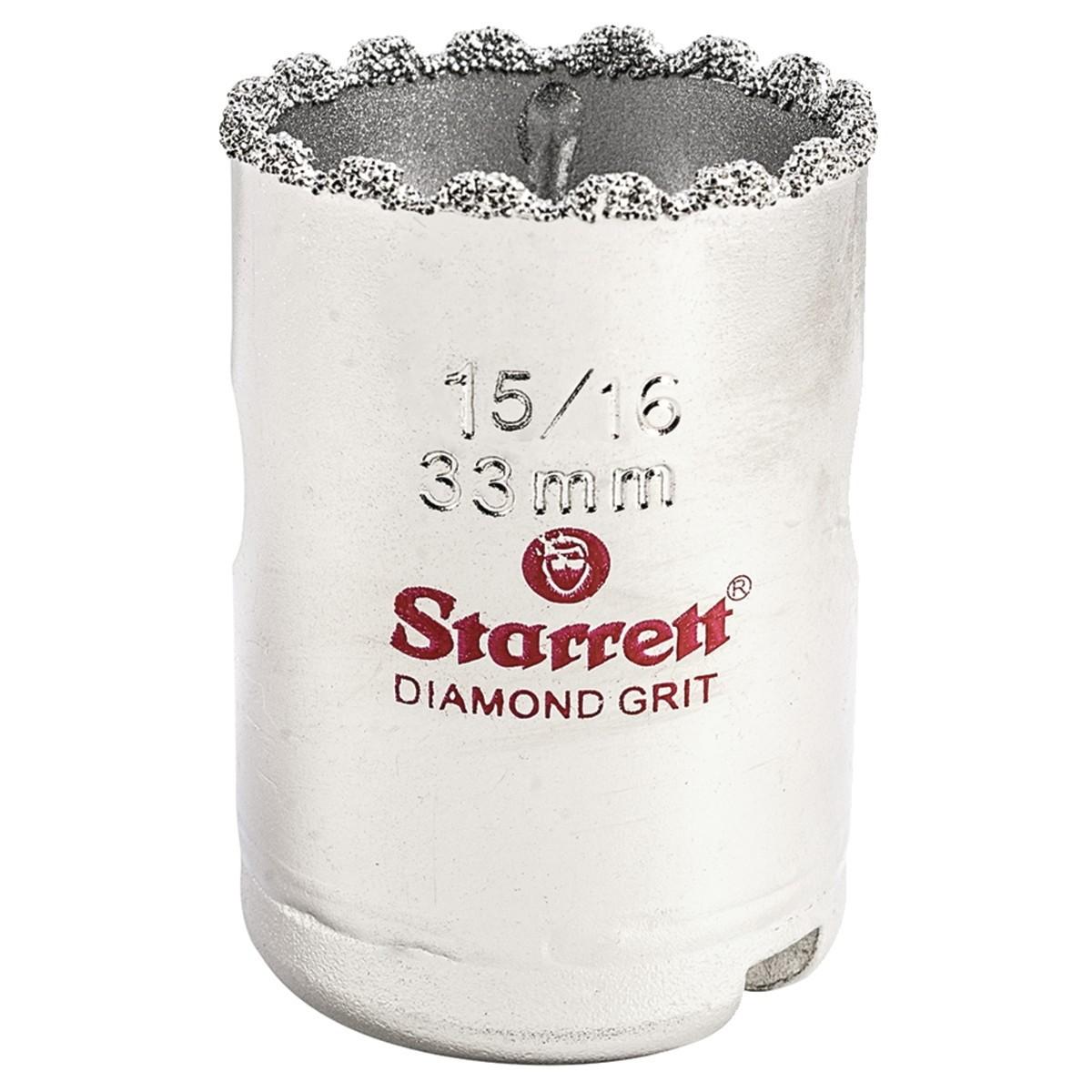 SERRA COPO DIAMANTADA 1.5/16 STARRETT KD0156-N