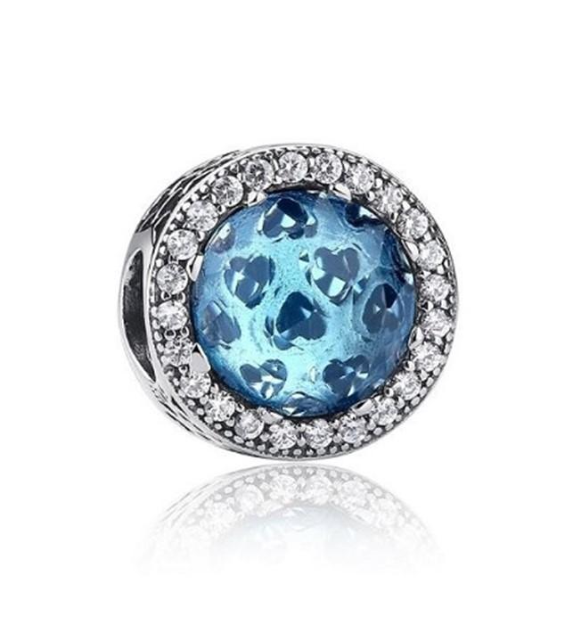 Berloque Brilho Azul