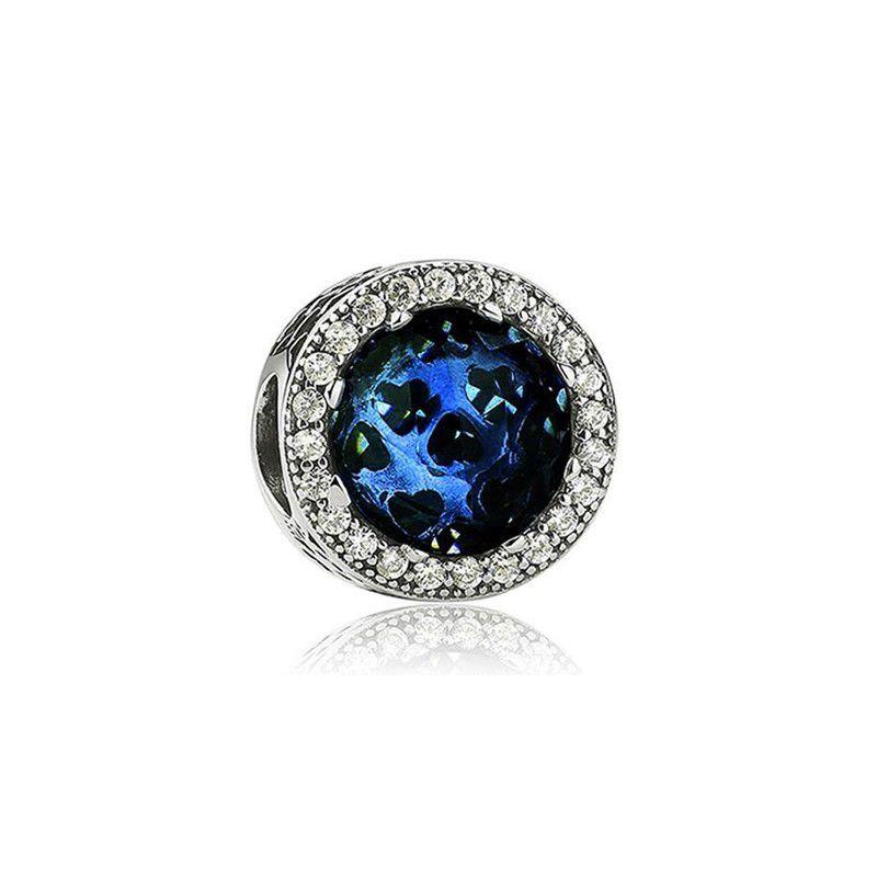 Berloque Brilho Azul Escuro II