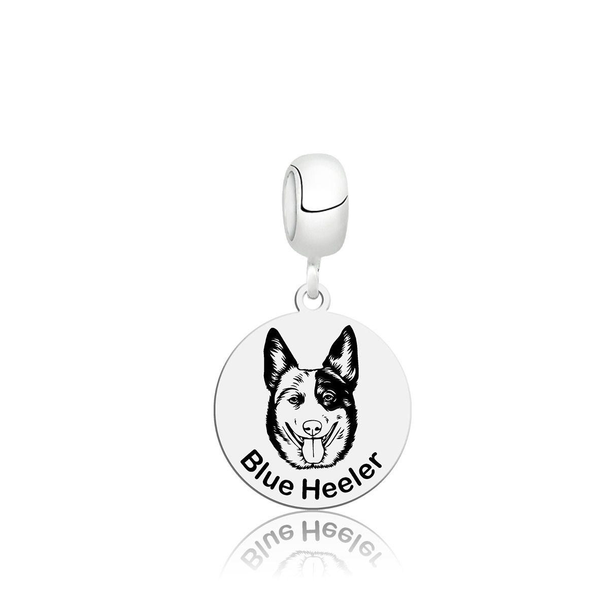 Berloque Cachorro Blue Heeler