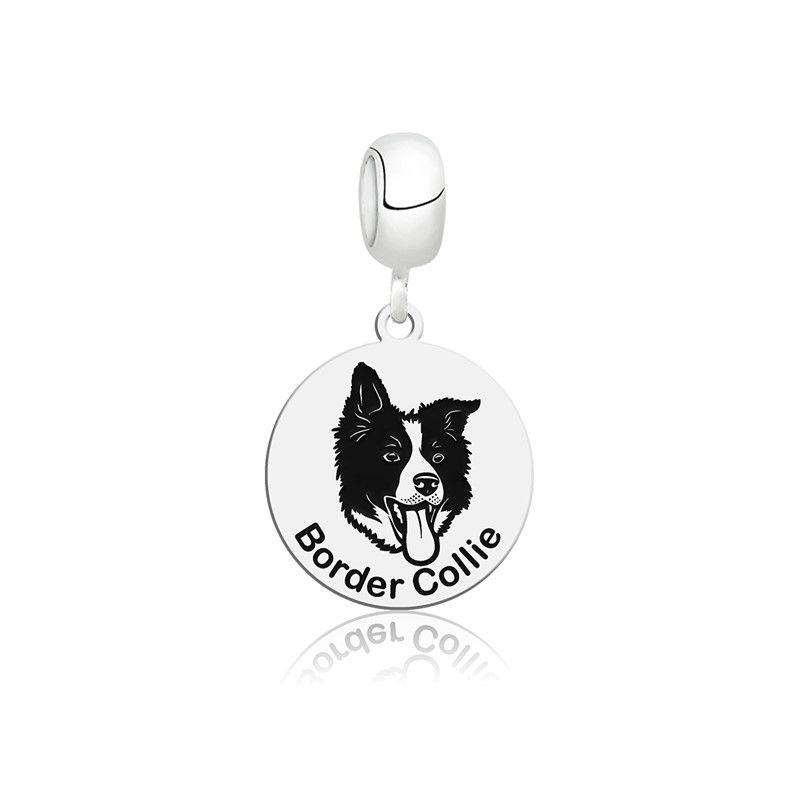 Berloque Cachorro Border Collie