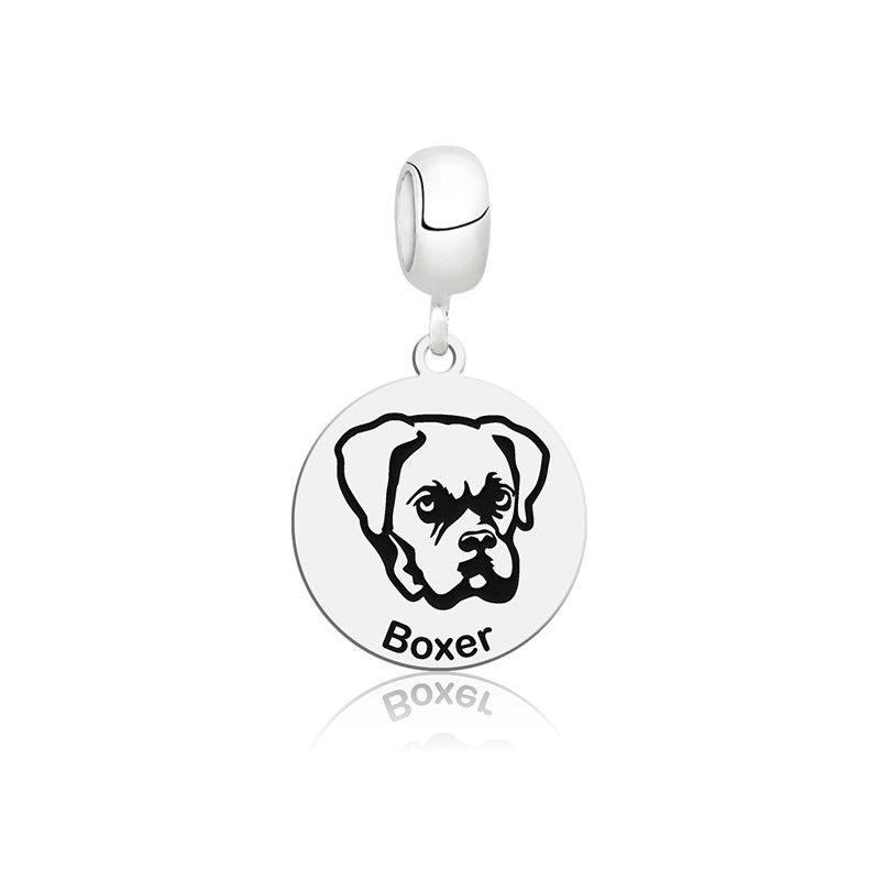 Berloque Cachorro Boxer
