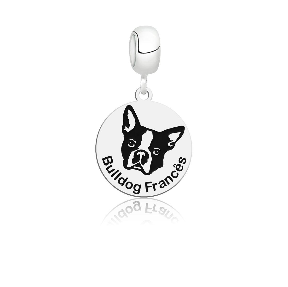 Berloque Cachorro Bulldog Francês