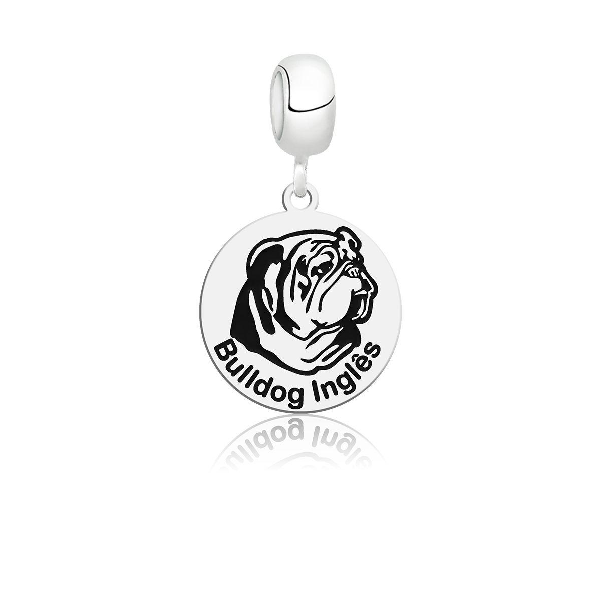 Berloque Cachorro Bulldog Inglês
