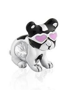 Berloque Cachorro Coração