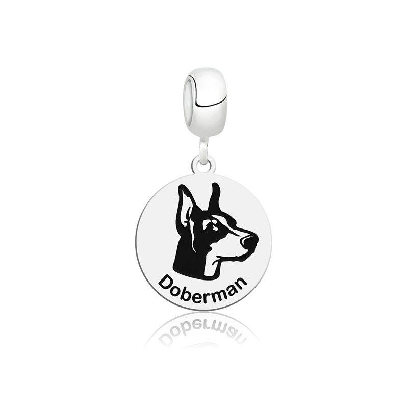 Berloque Cachorro Doberman