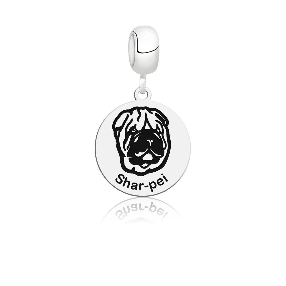 Berloque Cachorro Shar-pei
