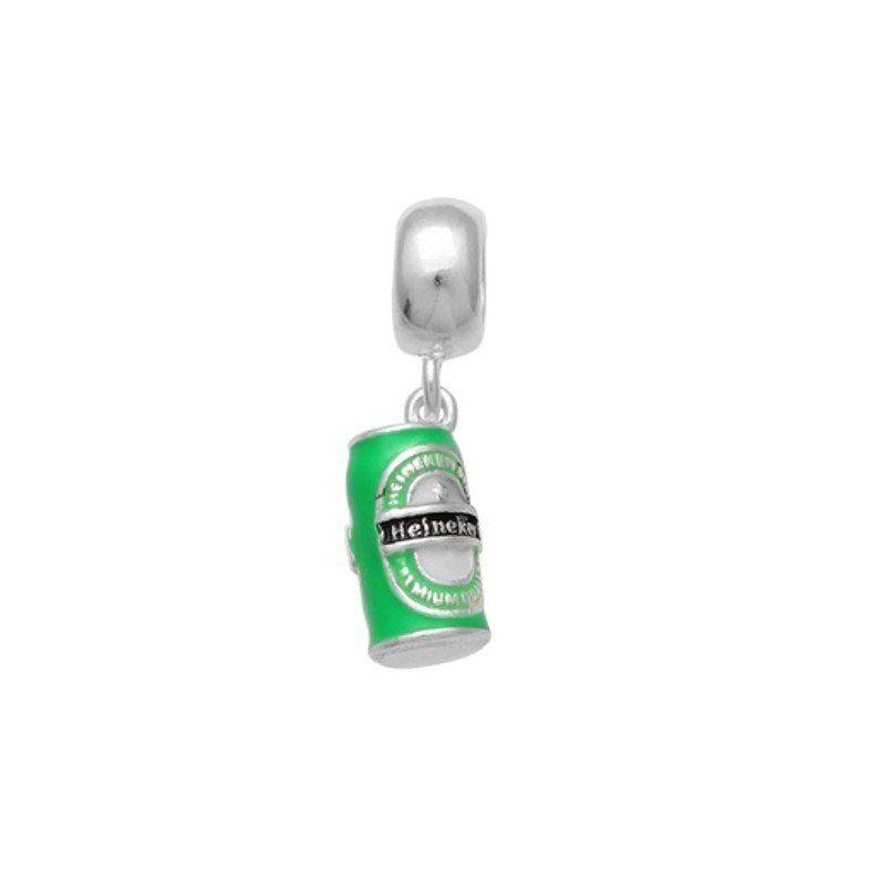 Berloque Cerveja Latinha Heineken