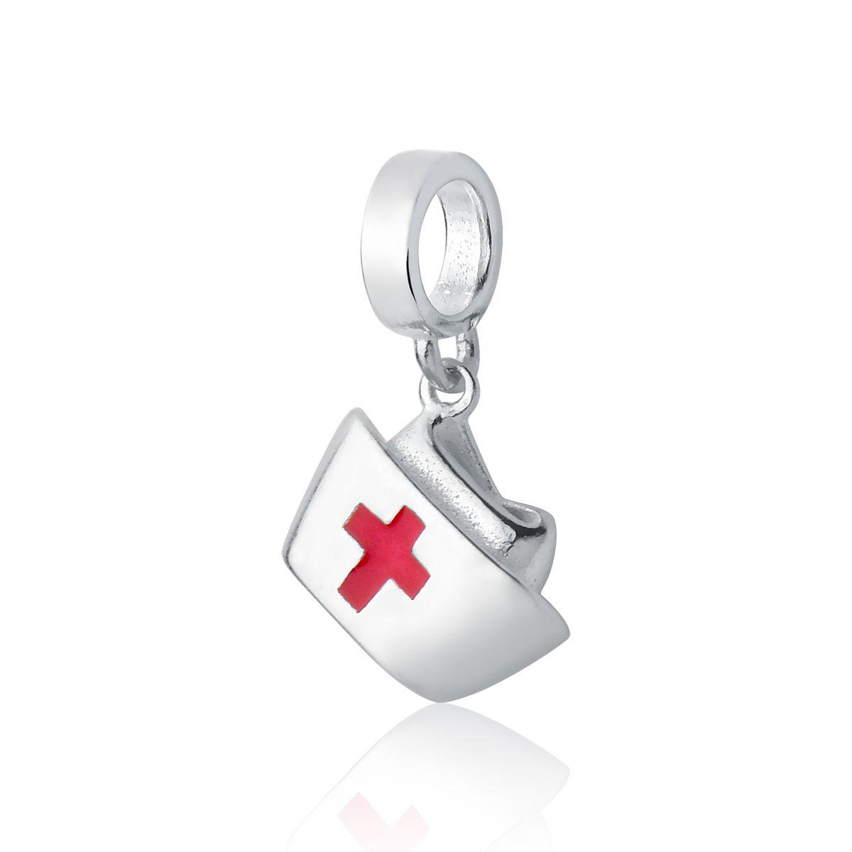 Berloque Chapéu de Enfermeira