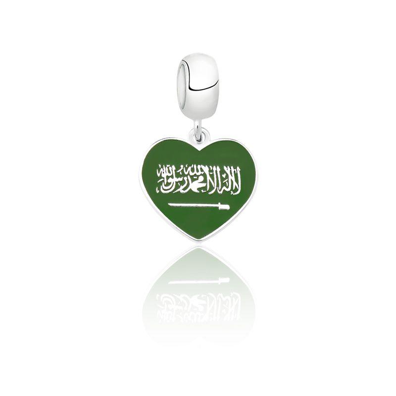 Berloque Coração Arabia Saudita