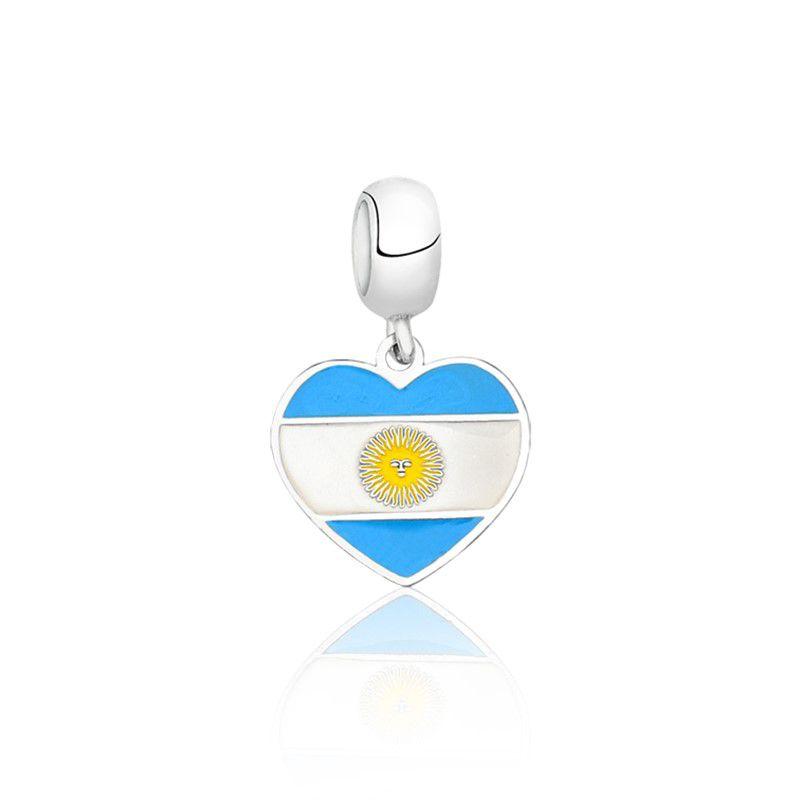 Berloque Coração Argentina