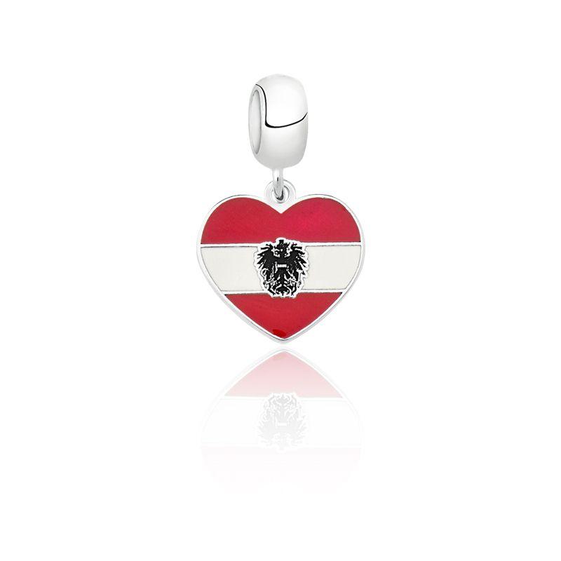 Berloque Coração Áustria