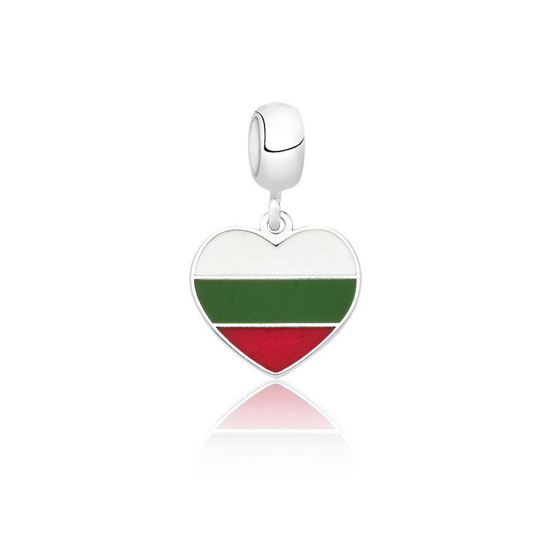 Berloque Coração Bulgária