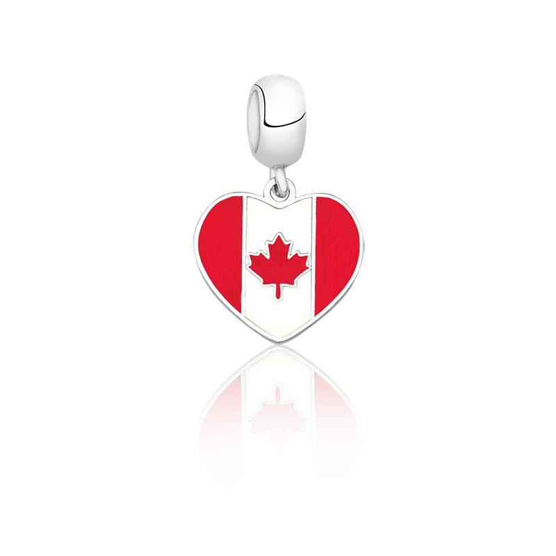 Berloque Coração Canadá