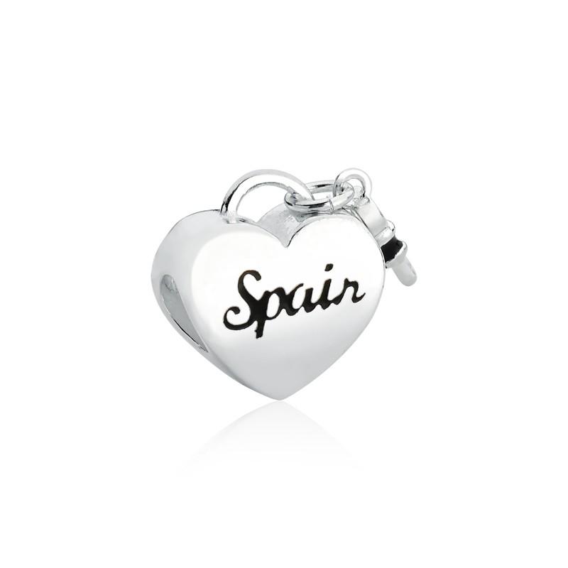 Berloque Coração Chave Espanha