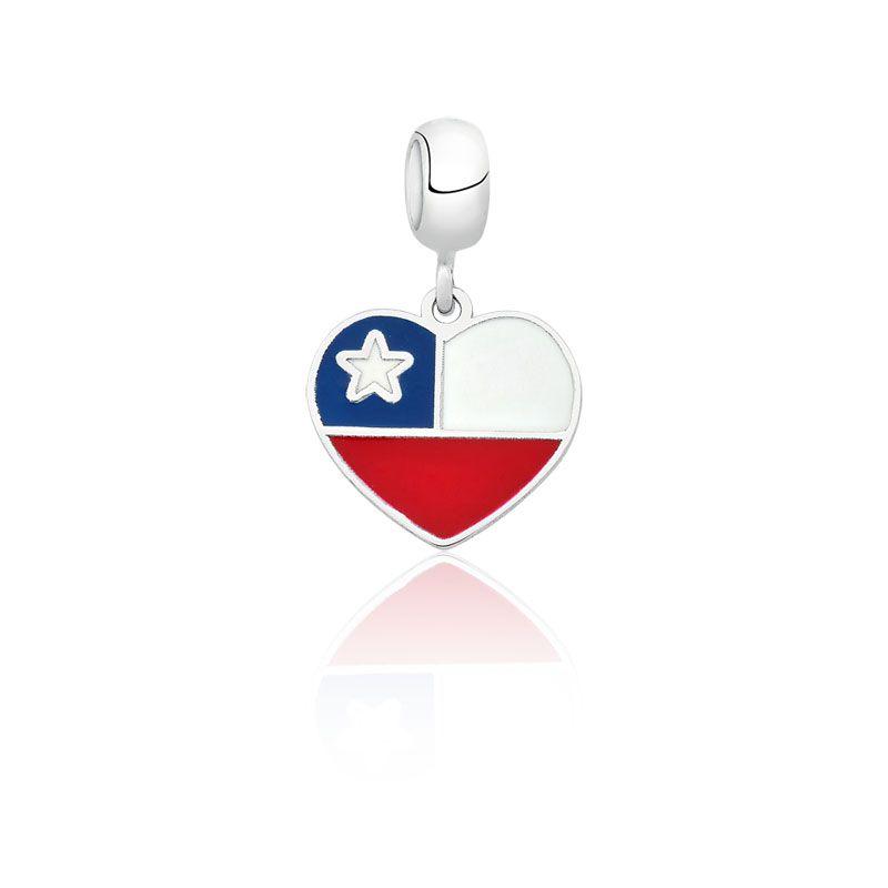 Berloque Coração Chile