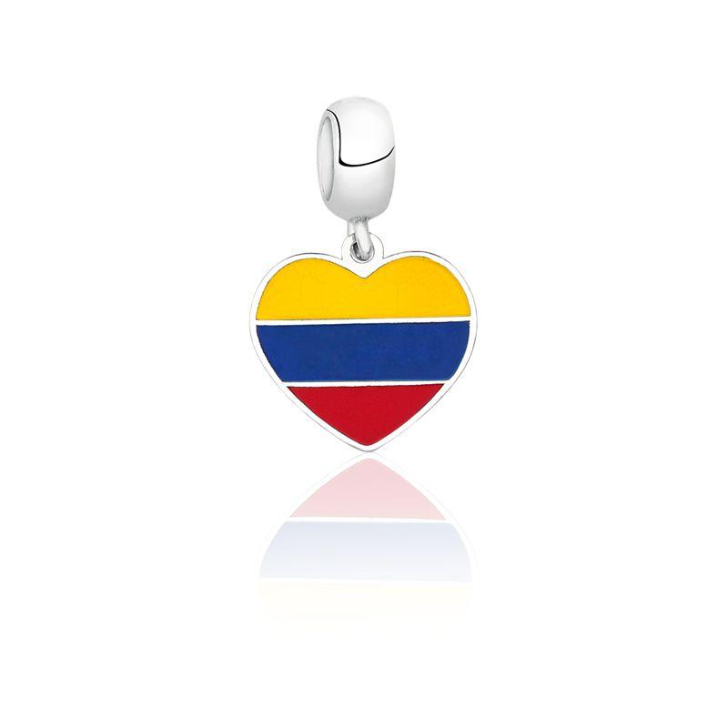 Berloque Coração Colômbia