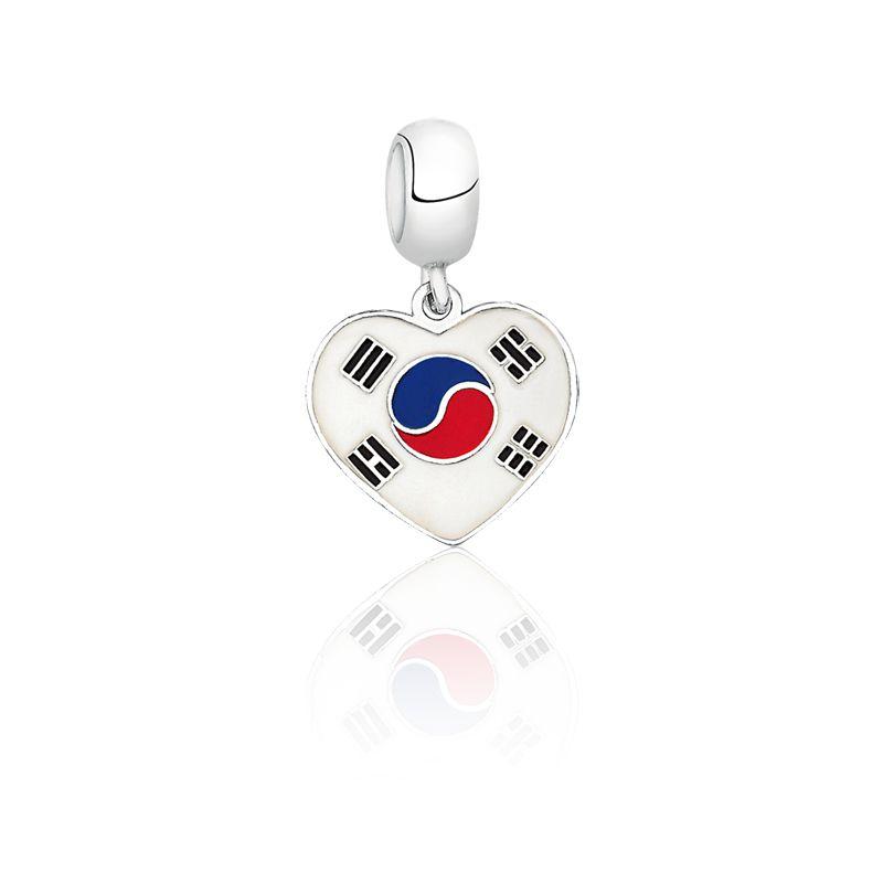 Berloque Coração Coreia