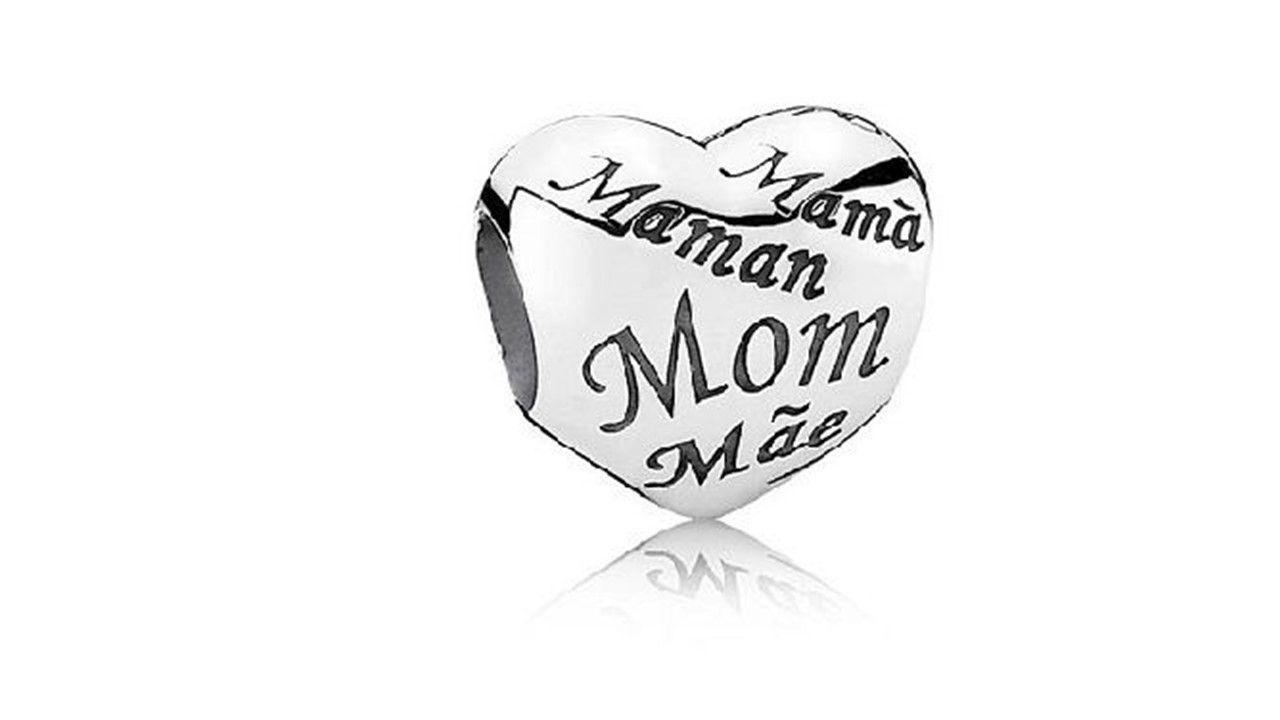 Berloque Coração de Mãe
