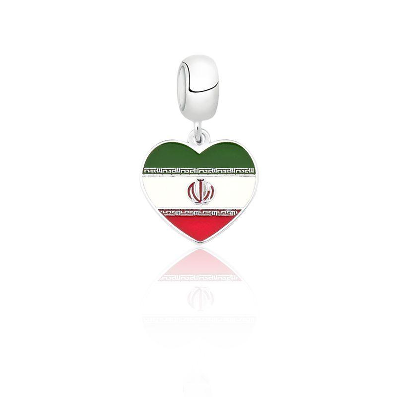 Berloque Coração Irã