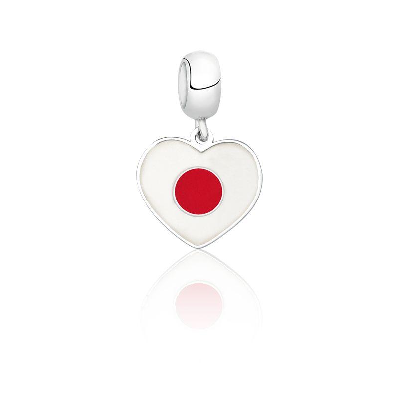 Berloque Coração Japão