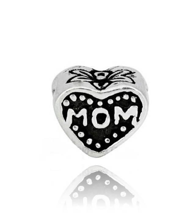 Berloque Coração Mãe Amor