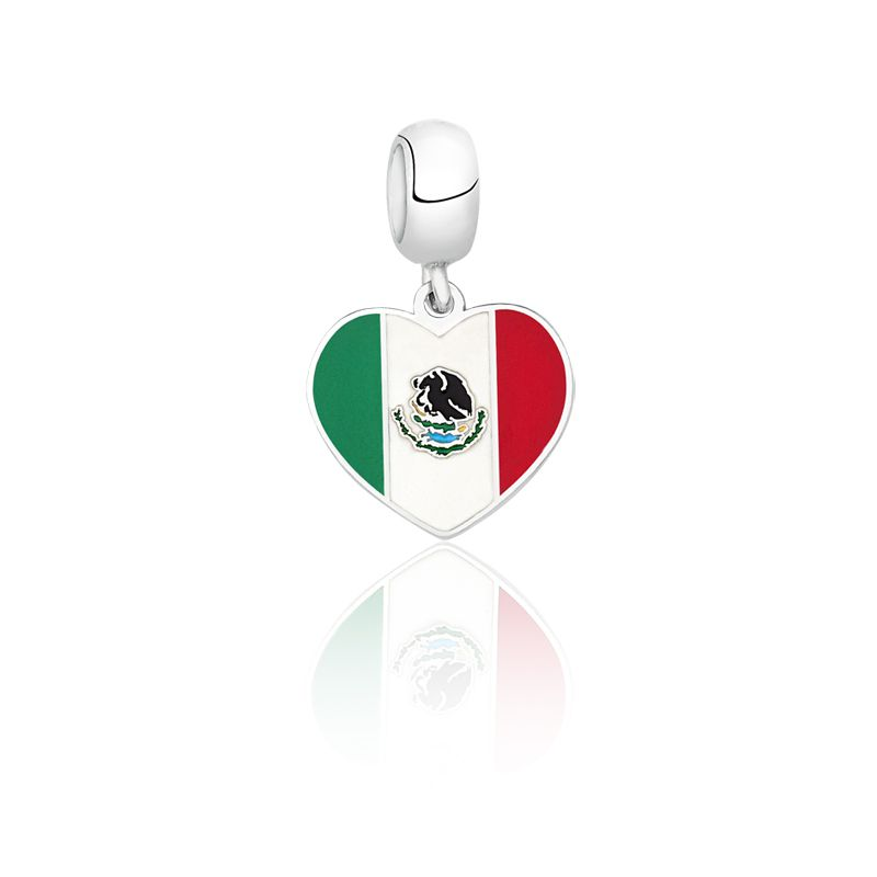 Berloque Coração Mexico