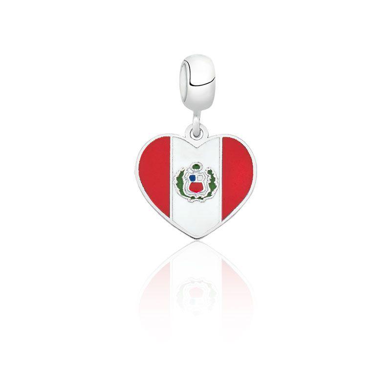 Berloque Coração Peru